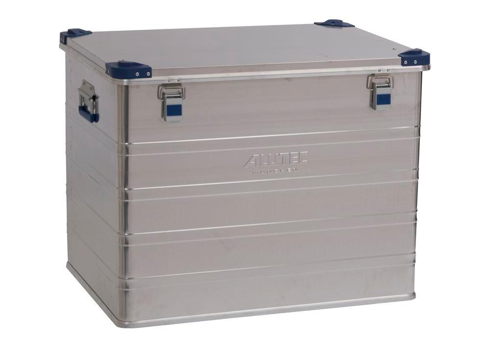 Aluminium box Industry, with stacking corners, 243 litre capacity