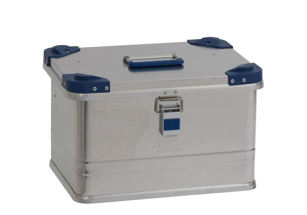 Aluminium box Industry, with stacking corners, 30 litre capacity