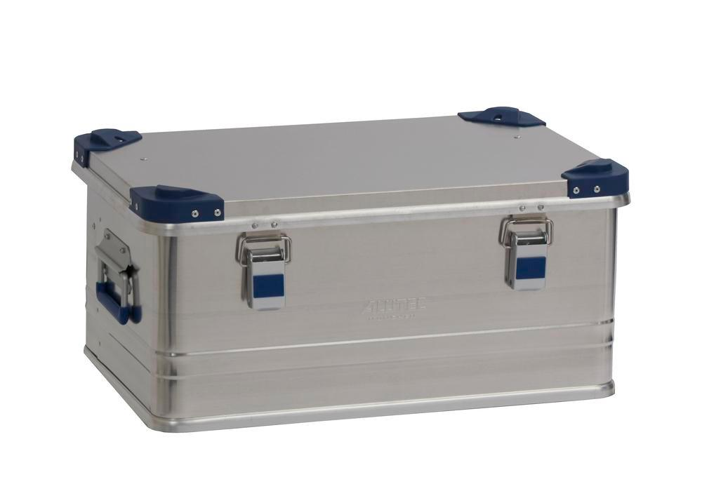 Aluminium box Industry, with stacking corners, 48 litre volume