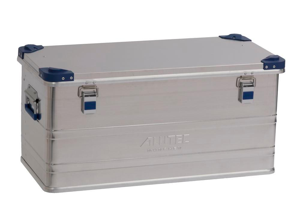 Aluminium box Industry, with stacking corners, 92 litre capacity