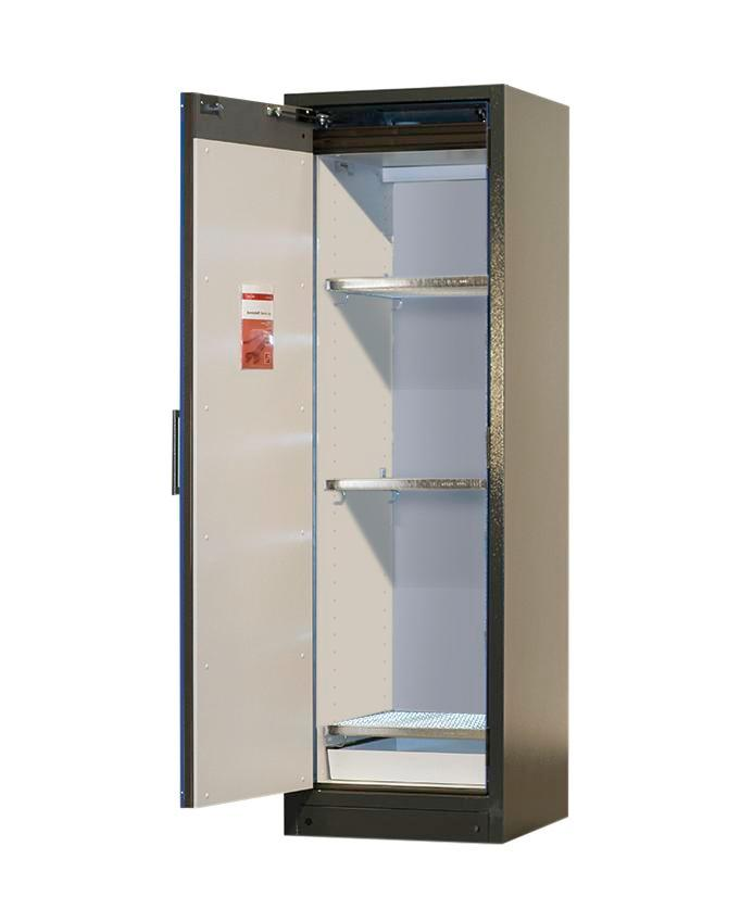 Lithium-ion battery storage cabinet SafeStore, 3 grids, W 600 mm