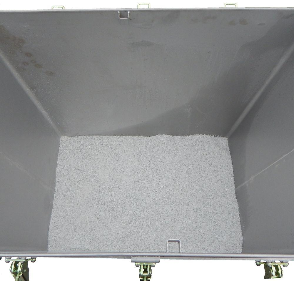 Lithium-ion battery transport box in stainless steel, 466 l, M-Box X1, filling PyroBubbles® - 3