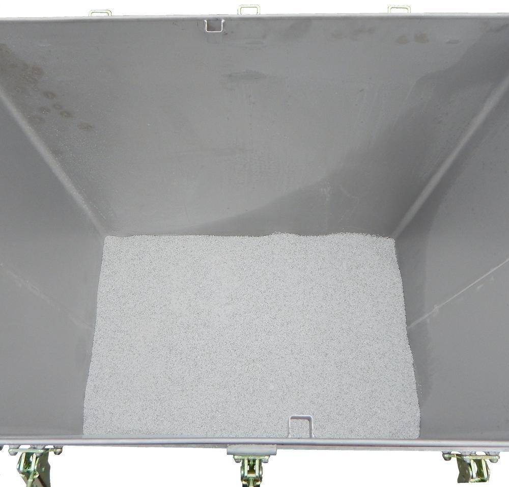Lithium-ion battery transport box in stainless steel, 800 l, M-Box X2, filling PyroBubbles® - 3