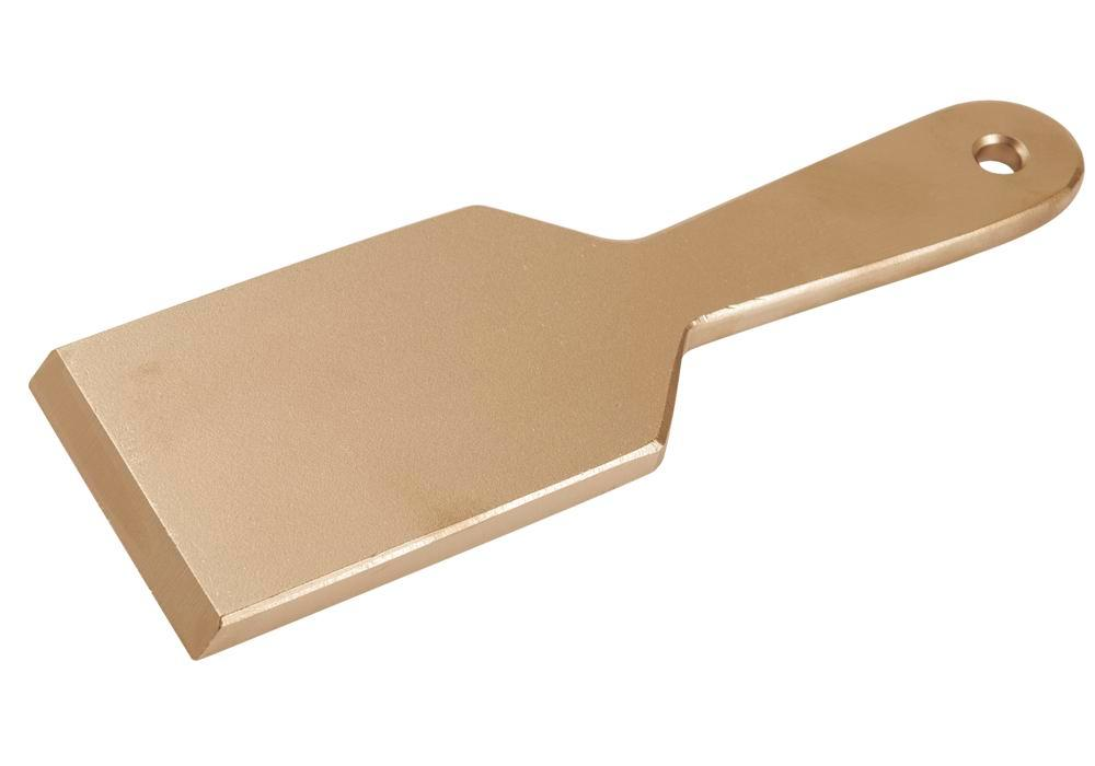 Spray booth scraper 235 mm, special bronze, spark-free, for Ex zones