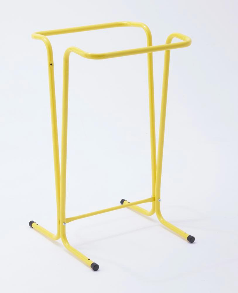 120 litre waste sack holder, standing, yellow