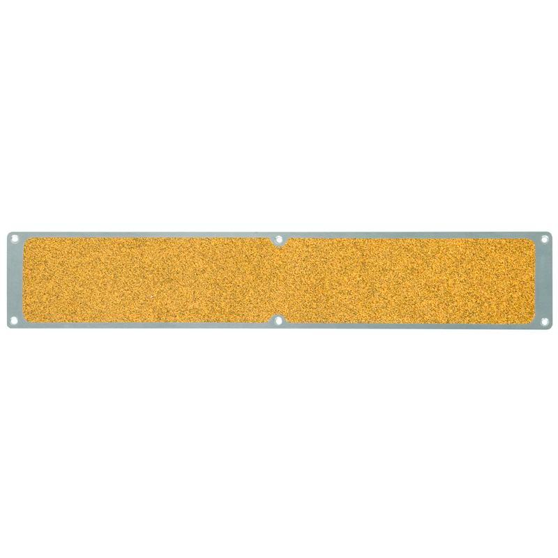 Anti-slip sheet, aluminium m2, Public 46, yellow, 1000 x 114 mm