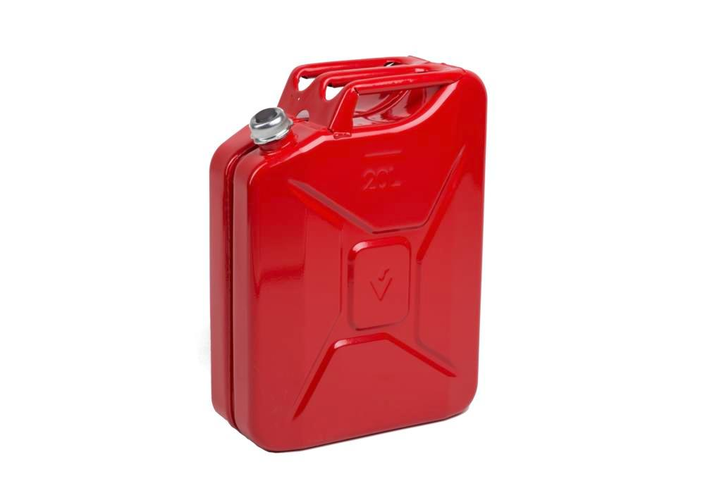 Fuel canister in steel, with screw cap, 20 litre volume, with UN approval - 1