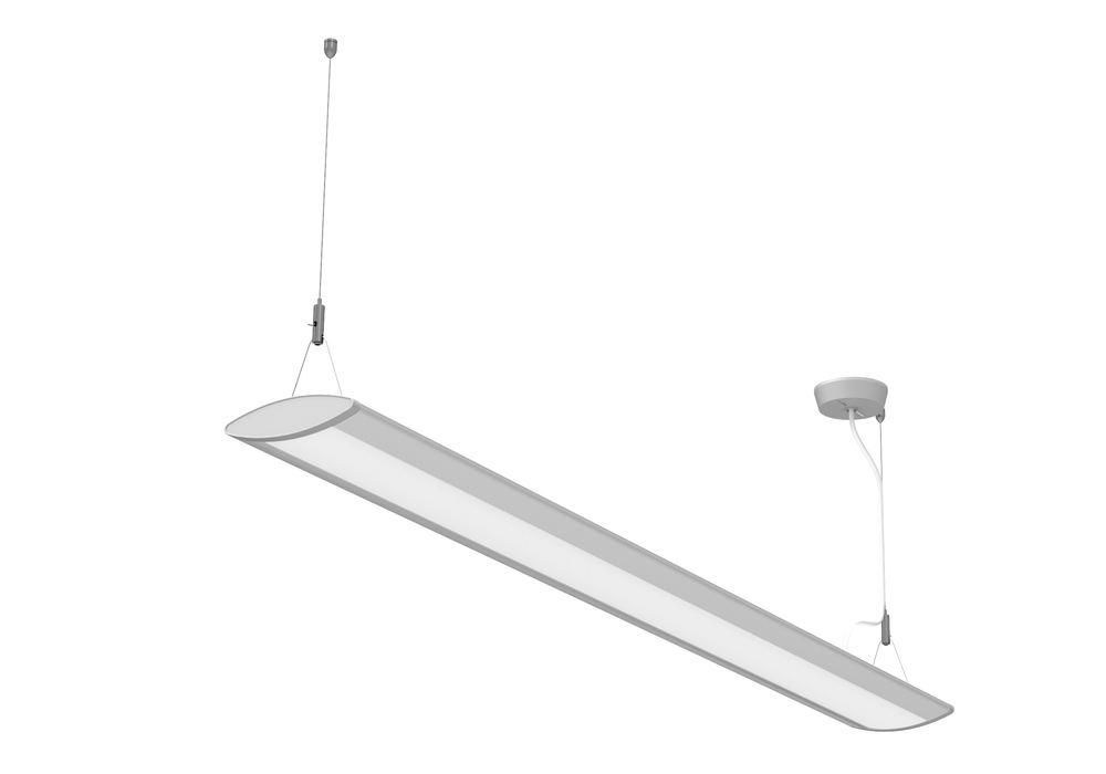 LED pendant lamp MAULEye, 37 W, W 1225 mm