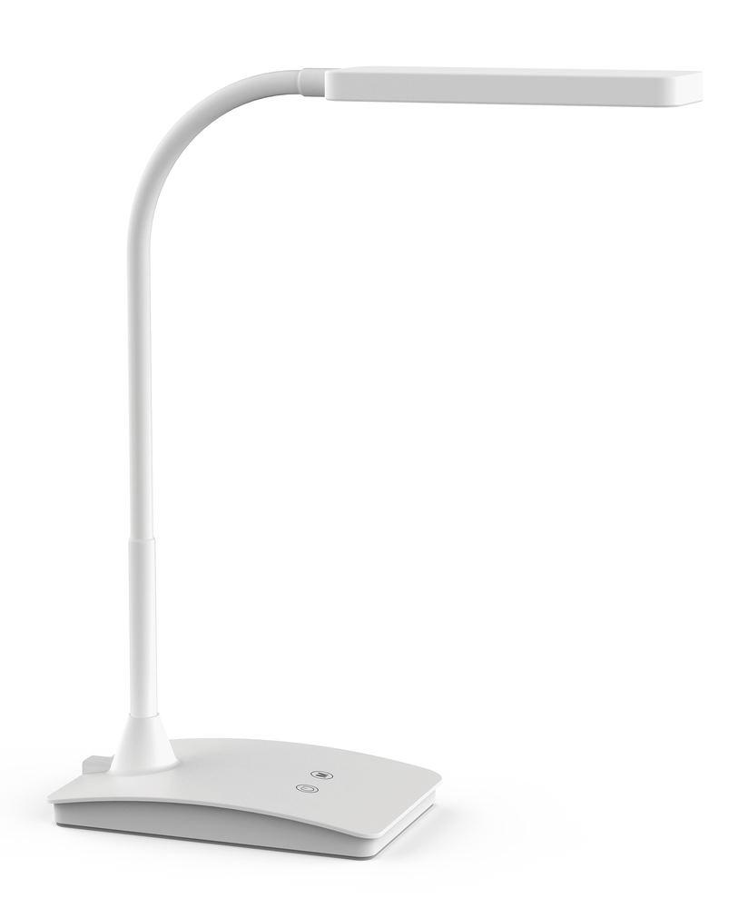 LED table light pearly, white