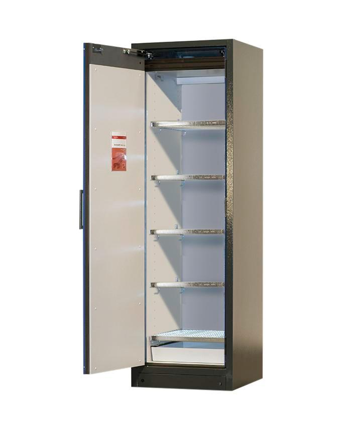 Lithium-ion battery storage cabinet SafeStore, 5 grids, W 600 mm