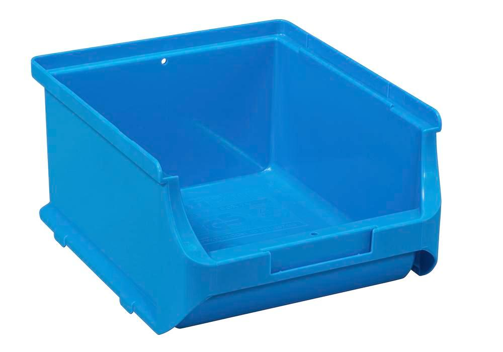 Open-fronted storage bins pro-line A2-B, PP, 135 x 160 x 82 mm, blue, Pack = 20 pcs. - 1