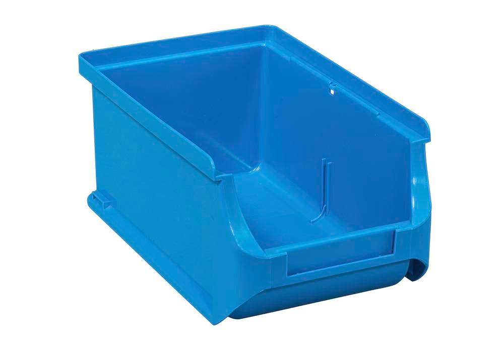 Open-fronted storage bins pro-line A2, PP, 100 x 160 x 75 mm, blue, Pack = 24 pcs.