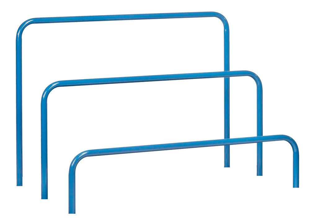 Tubular frame 600 mm for universal board trolley with 800 x 1600 mm load surface