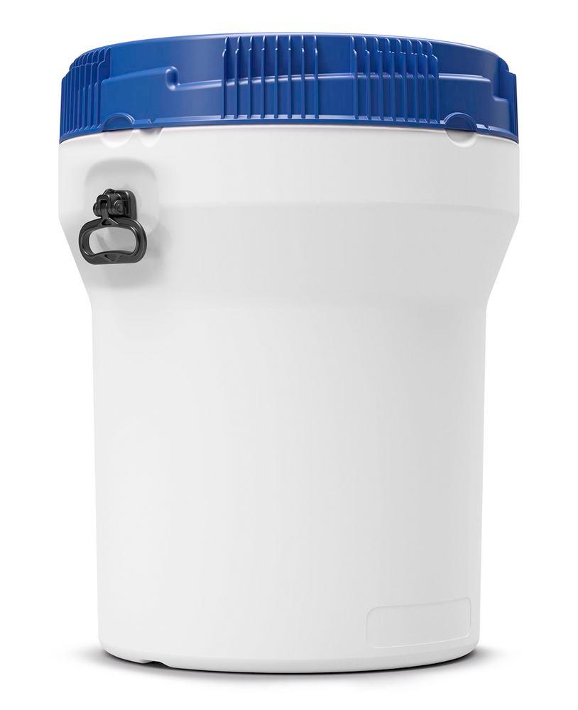 Wide neck drum in polyethylene (PE), nestable, 120 litre, with UN approval - 1