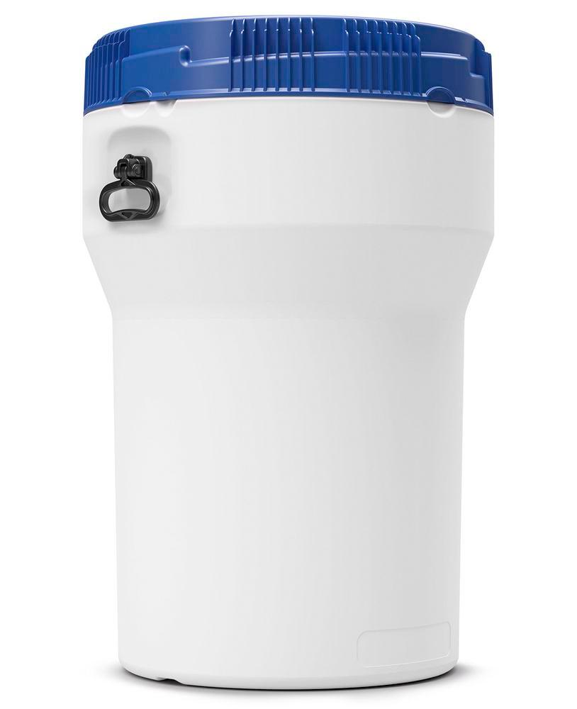 Wide neck drum in polyethylene (PE), nestable, 150 litre, with UN approval