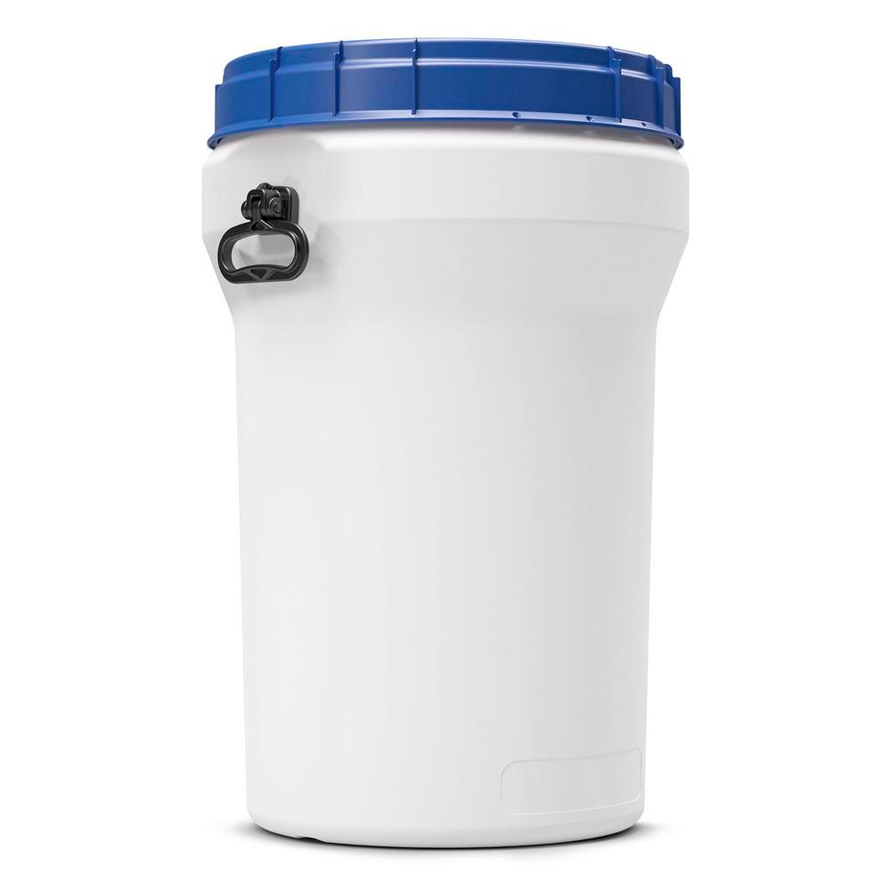 Wide neck drum in polyethylene (PE), nestable, 75 litre, with UN approval