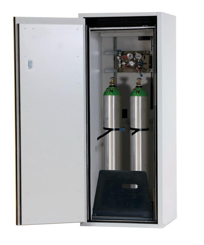 Fire-resistant gas cylinder cabinet G90.6-10, 600 mm wide ...