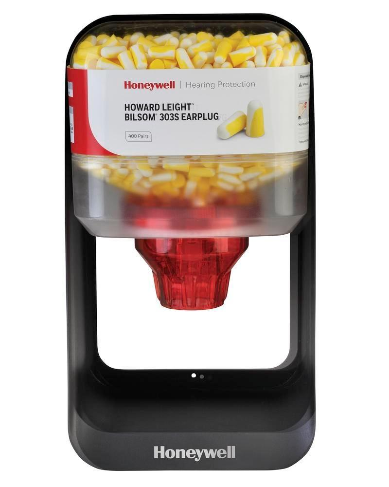 Ear plug dispenser HL 400-F filled with 303-S ear plugs, Sz. S, 400 pairs