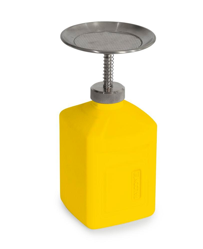FALCON plunger can in polyethylene (HDPE), 1 litre