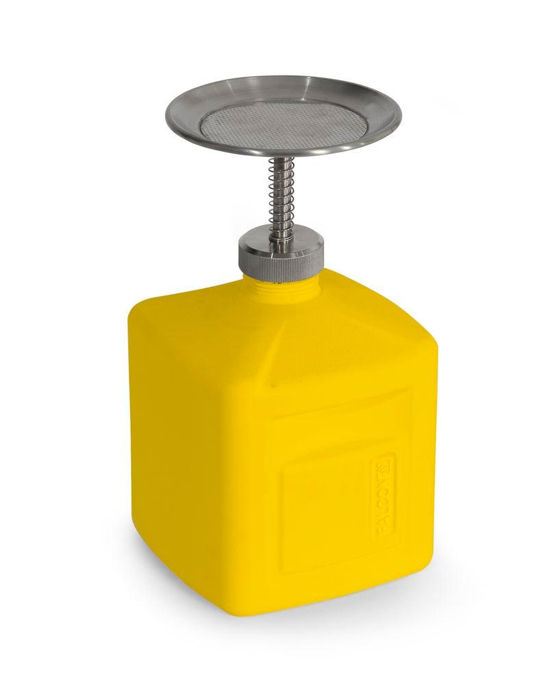 FALCON plunger can in polyethylene (HDPE), 2 litres