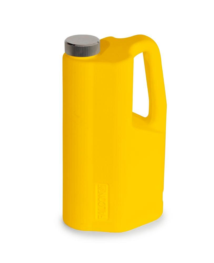 FALCON safety jug in polyethylene (HDPE), with screw cap, 2 litres