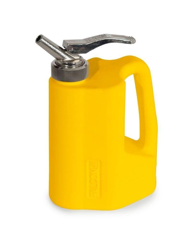 FALCON safety jug in polyethylene (PE), with fine measuring tap, 1 litre