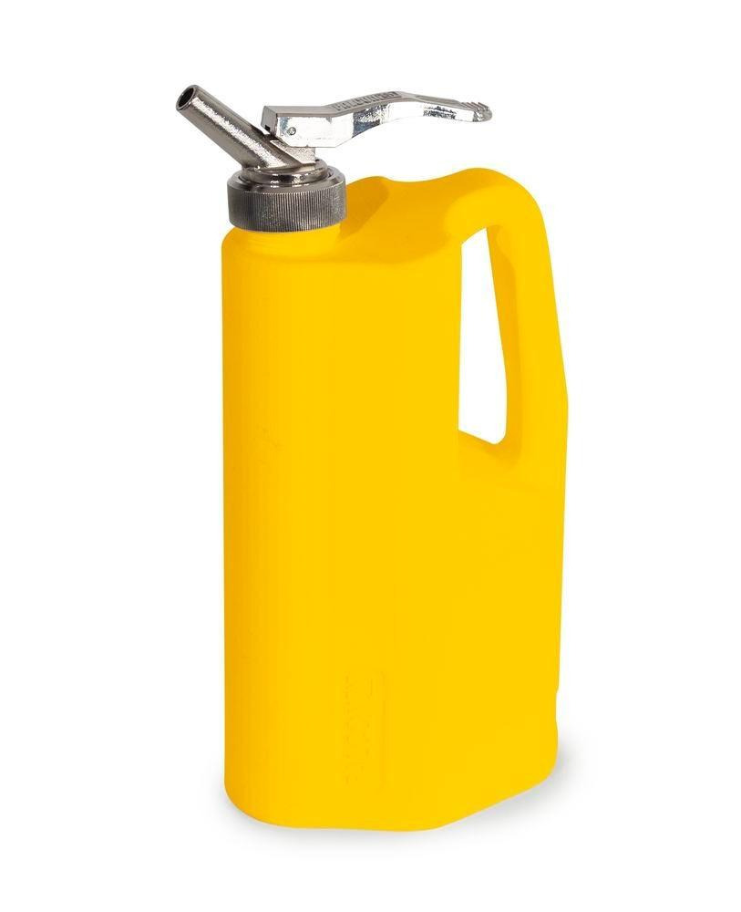 FALCON safety jug in polyethylene (PE), with fine measuring tap, 2 litre