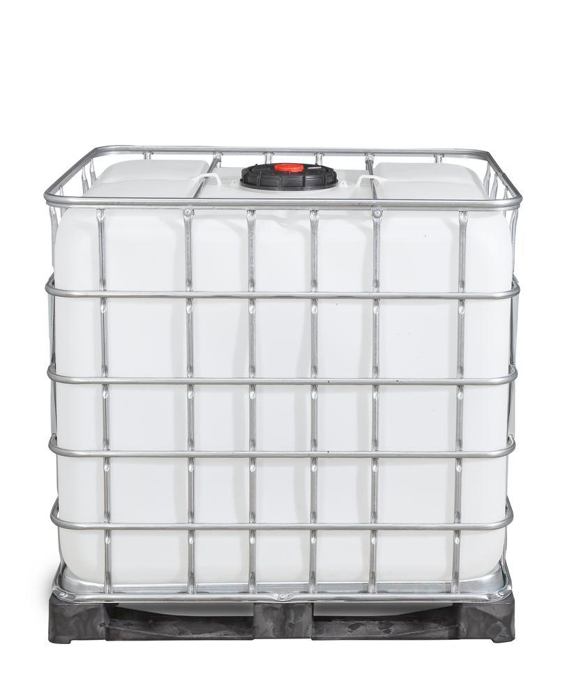IBC container, PE pallet, 1000 litre, NW225 opening, NW50 drain - 3
