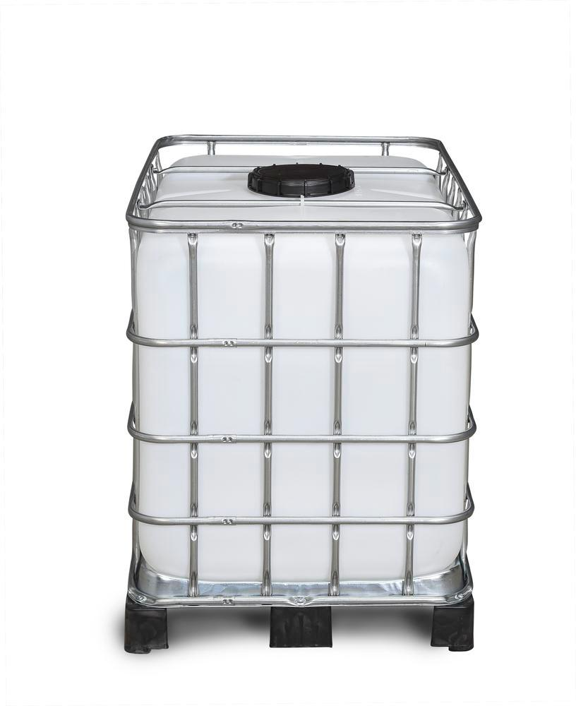 IBC container, PE pallet, 600 litre, NW225 opening, NW80 drain