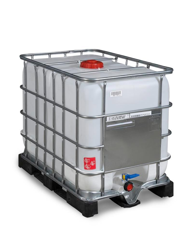 IBC hazardous goods container, PE pallet, 600 litre, NW150 opening, NW50 drain - 6