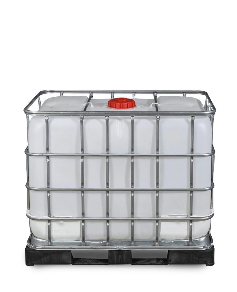 IBC hazardous goods container, PE pallet, 600 litre, NW150 opening, NW50 drain - 9