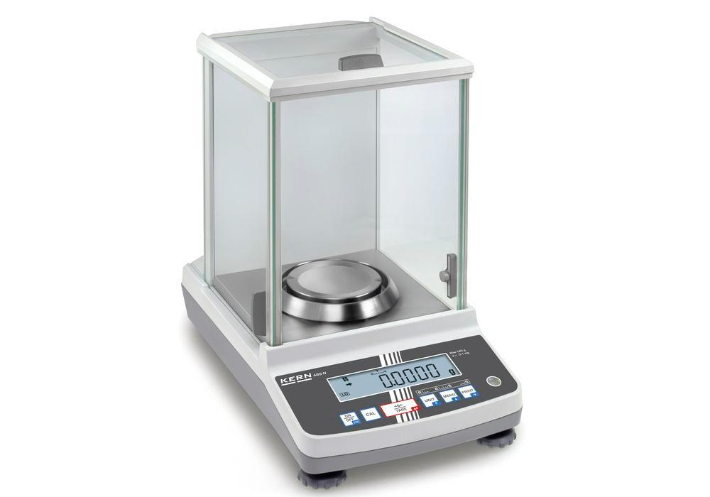 KERN analytical balance ABJ, verifiable, up to 82 g