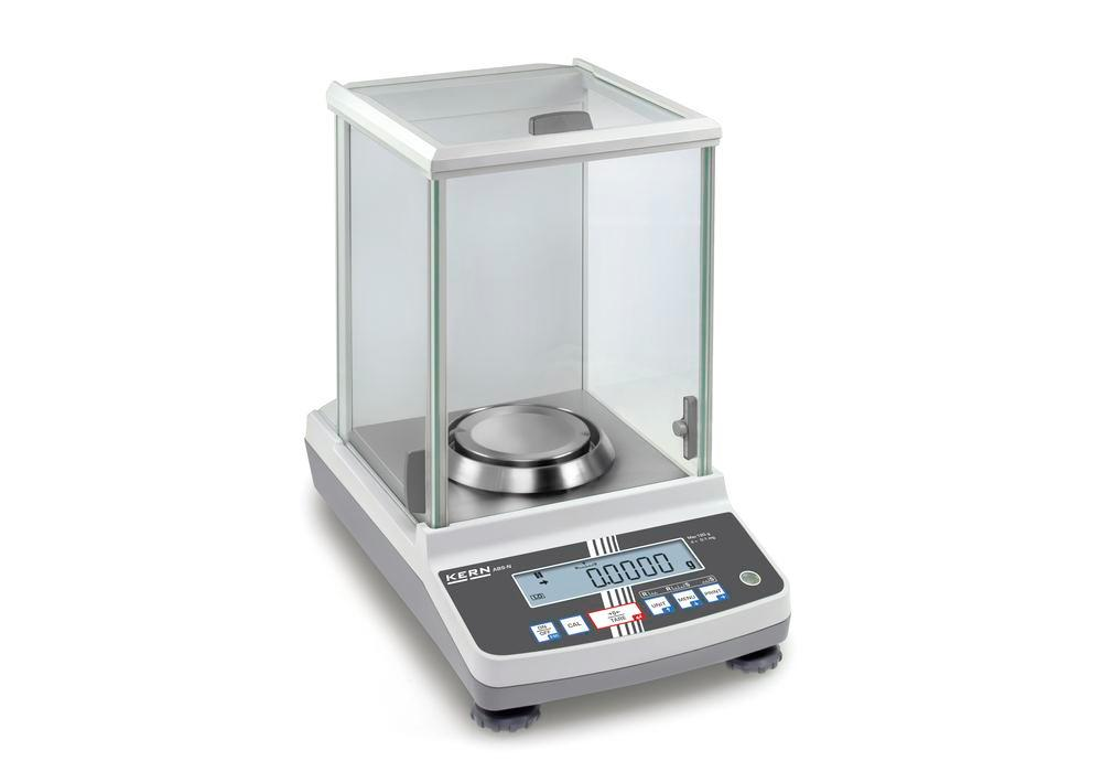 KERN analytical balance ABS, up to 220 g