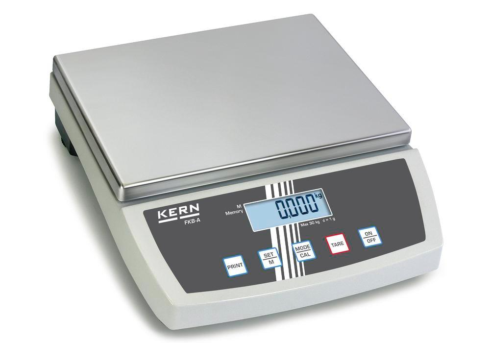 KERN bench scale FKB, up to 8 kg, d = 0.1 g - 1