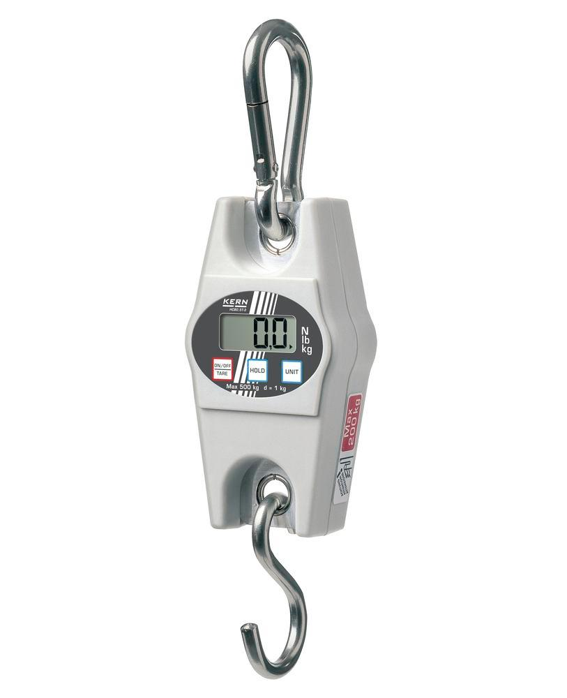 KERN hanging scale HCB, up to 200 kg, d = 500 g - 1