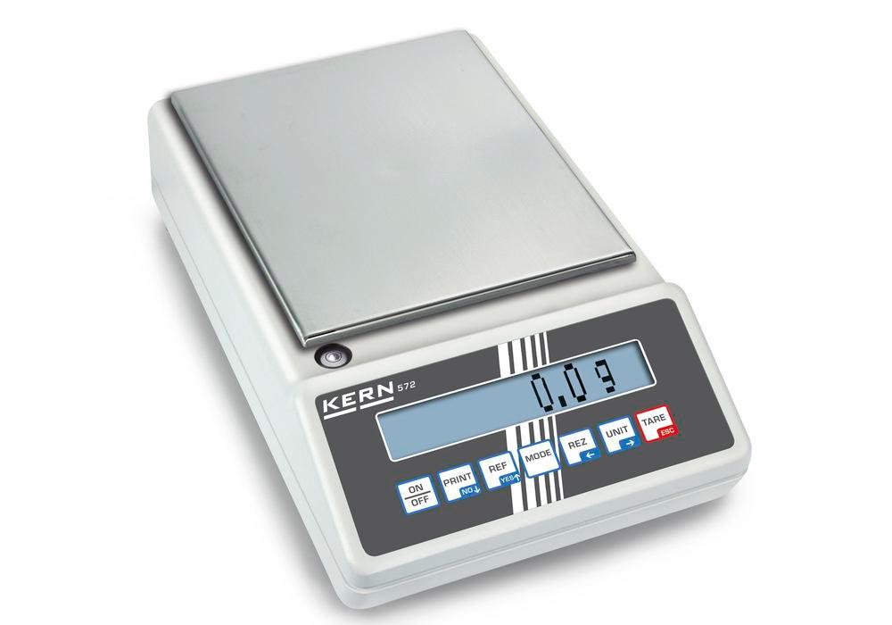 KERN industrial and precision balance 572, up to 12 kg