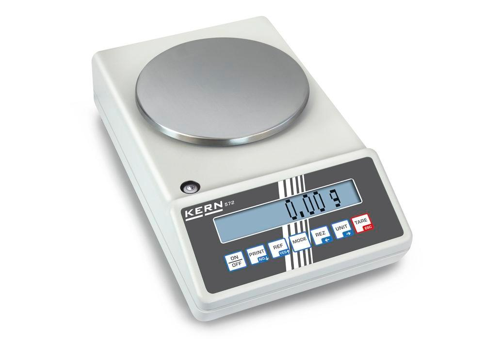 KERN industrial and precision balance 572, up to 2.4 kg