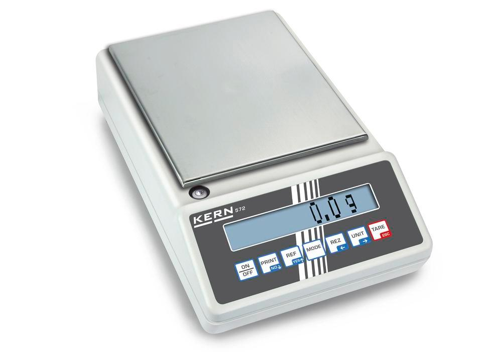 KERN industrial and precision balance 572, up to 20 kg