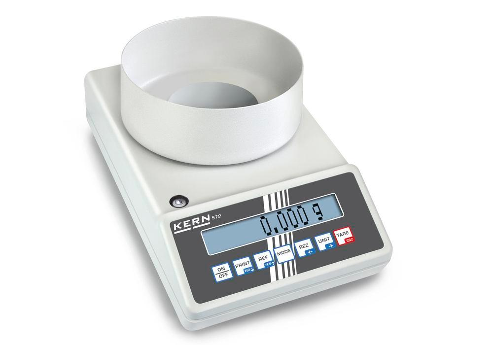 KERN industrial and precision balance 572, up to 240 g