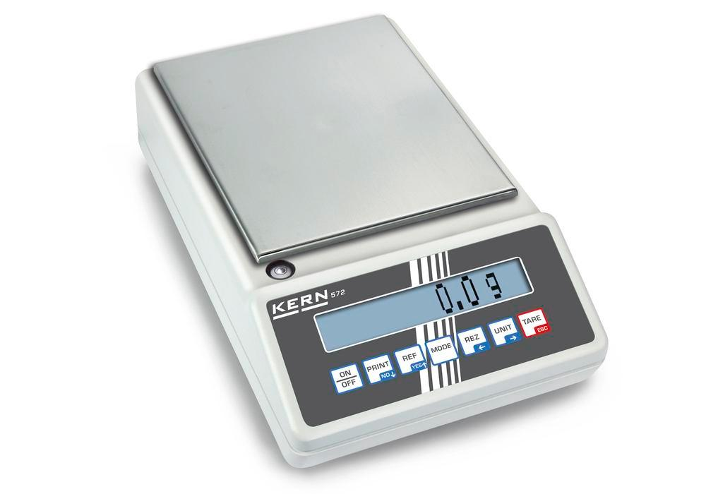 KERN industrial and precision balance 572, up to 6.5 kg