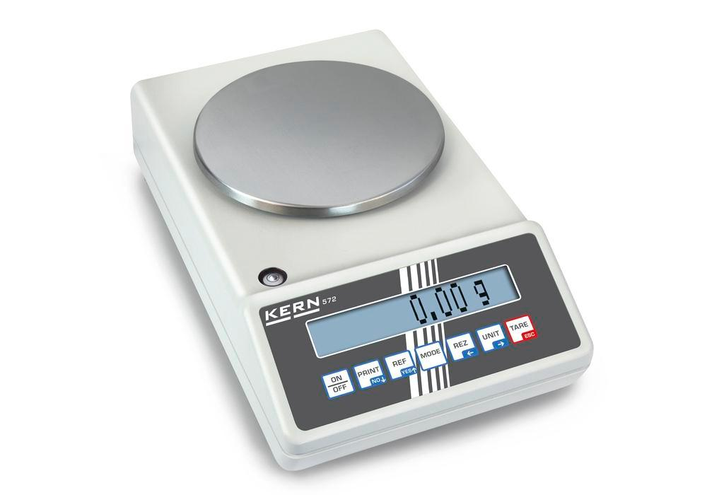 KERN industrial and precision balance 572, up to 650 g