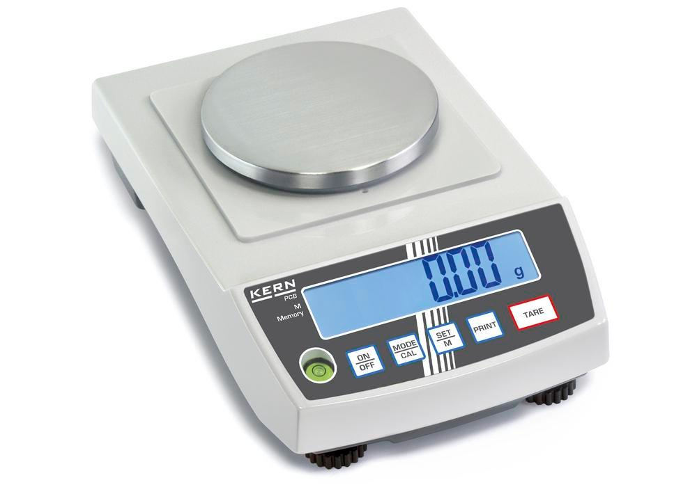 KERN precision balance PCB, up to 1 kg, d = 0.01 g
