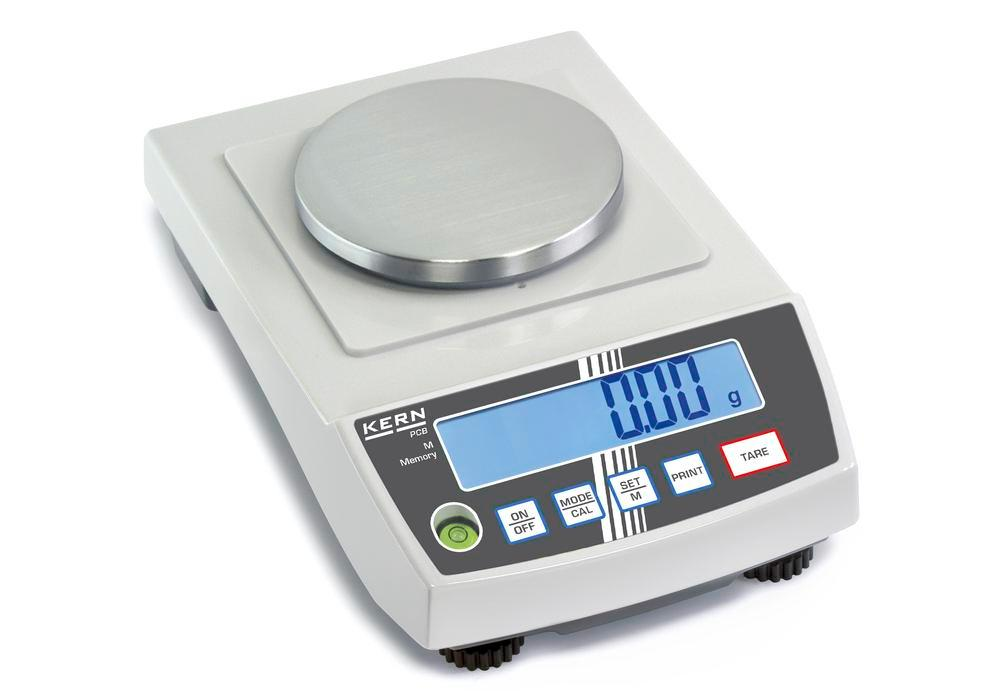 KERN precision balance PCB, up to 1 kg, d = 0.1 g
