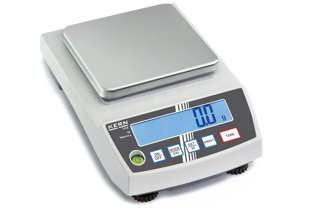 KERN precision balance PCB, up to 6 kg, d = 1 g