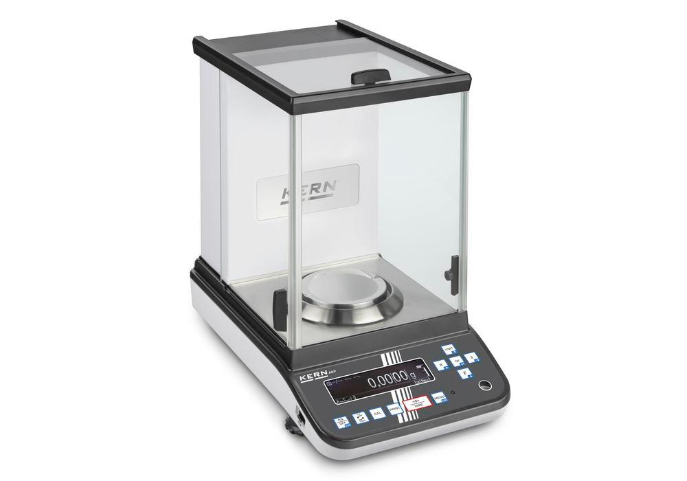 KERN premium analytical balance ABP, verifiable, up to 120 g
