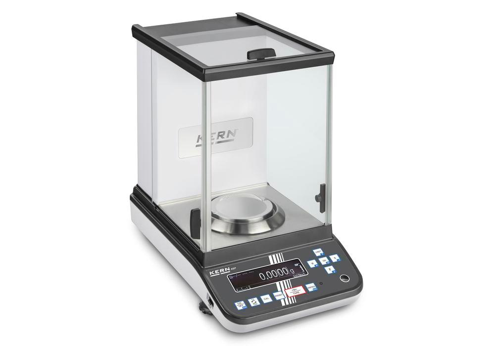 KERN premium analytical balance ABP, verifiable, up to 200 g