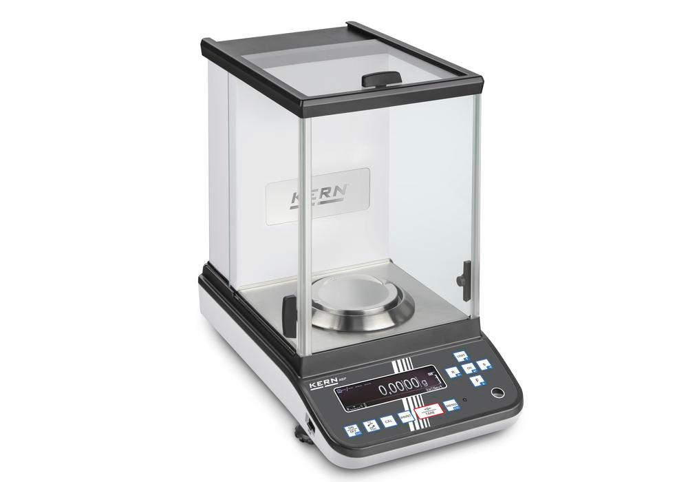 KERN premium analytical balance ABP, verifiable, up to 300 g