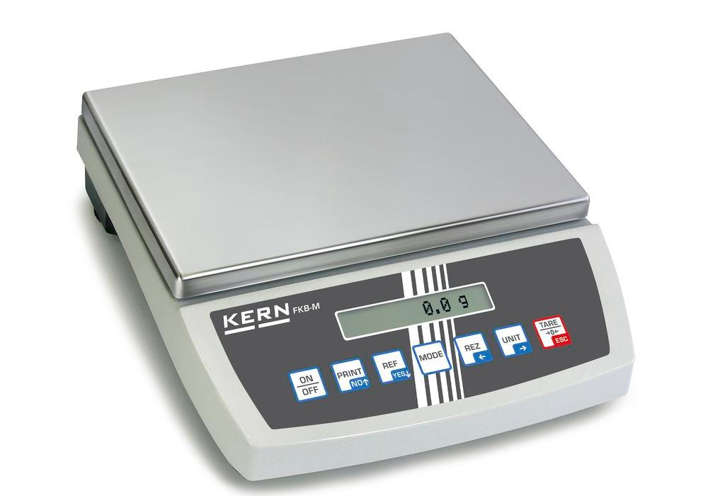 KERN premium bench scale FKB, up to 16 kg, d = 0.05 g