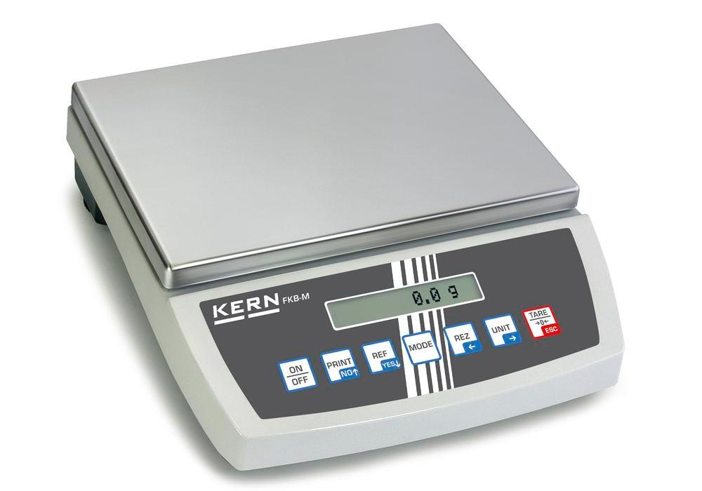 KERN premium bench scale FKB, up to 16 kg, d = 0.1 g - 1