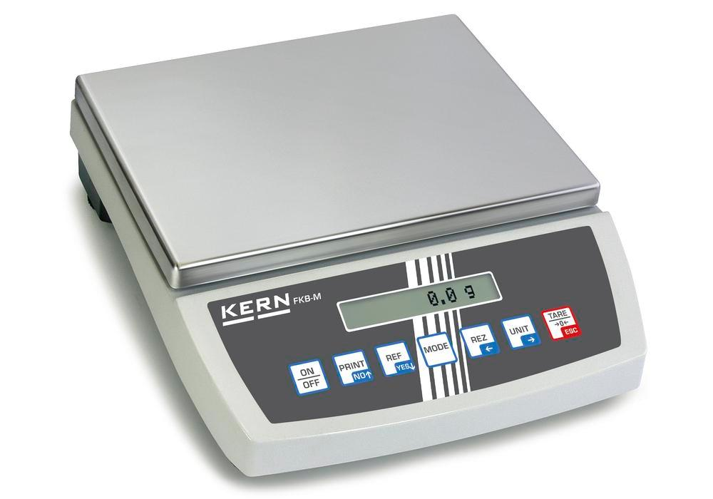 KERN premium bench scale FKB, up to 36 kg, d = 0.1 g